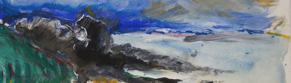 coverack/2010/ ink/pencil/overpainted with aquarell