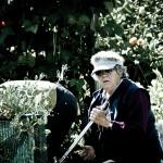Lady doing her garden (2011)